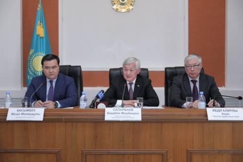 Бердибек Сапарбаев встретился с жителями Улытауского района