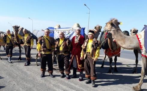 В Караганде побывал культурный караван «Ұлы Жібек жолы. Көне Тараздан асқақ Астанаға тарту»