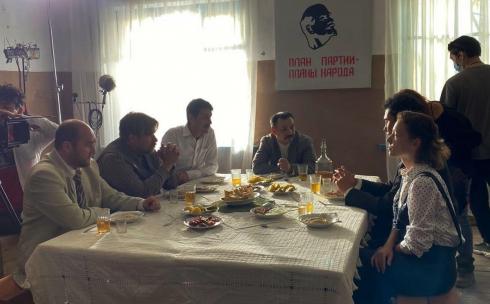 Карагандинская область стала одной из локаций для съемок сериала о Каныше Сатпаеве