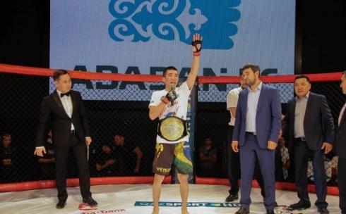 Карагандинец стал победителем Международного турнира по панкратиону
