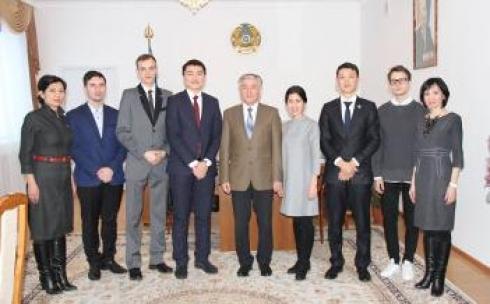 Будущие металлурги из Темиртау прошли обучение в вузах Восточной Европы