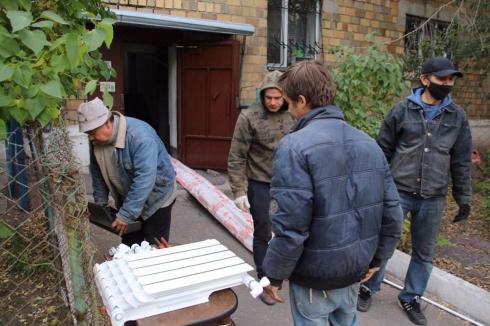Решилась многолетняя проблема жителей улицы Бобруйской в Караганде