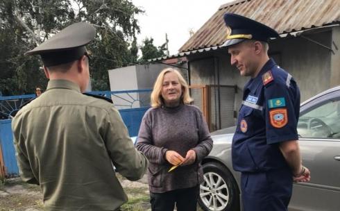 Месячник пожарной безопасности в Темиртау