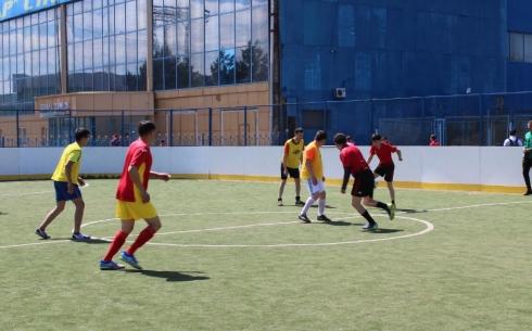 В Караганде прошли соревнования среди государственных служащих